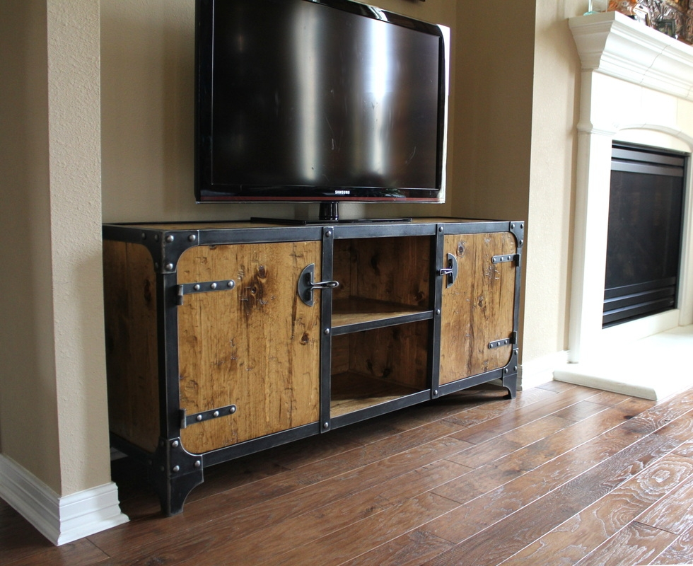 Innovative High Quality Industrial TV Cabinets With Regard To Vintage Industrial Credenza Pictures Ideas Design Ideas Decors (Image 29 of 50)