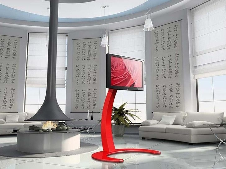 Innovative High Quality Red Modern TV Stands Inside 27 Best Pillar Images On Pinterest Architecture Home And Tv Stands (Image 27 of 50)