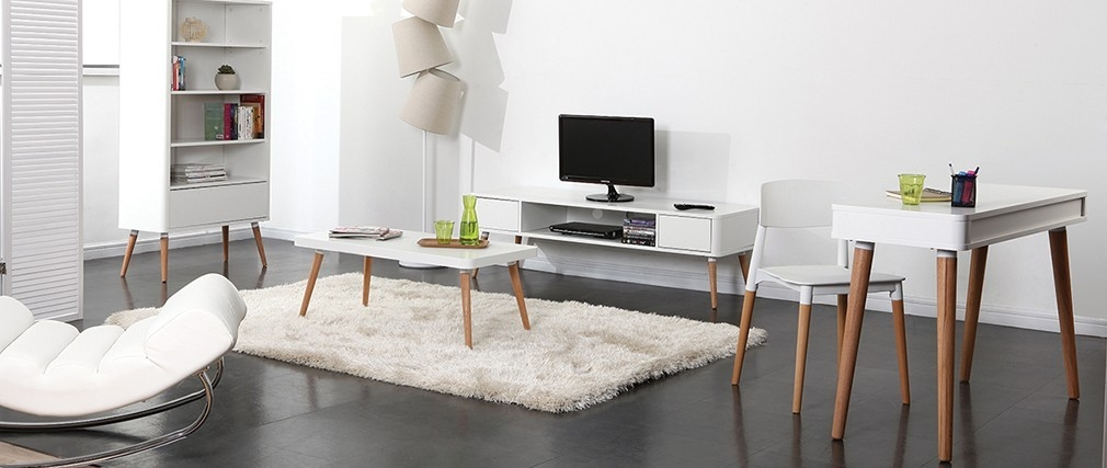 Innovative High Quality Scandinavian TV Stands For Scandinavian Style Tv Stand Totem Miliboo (Image 30 of 50)