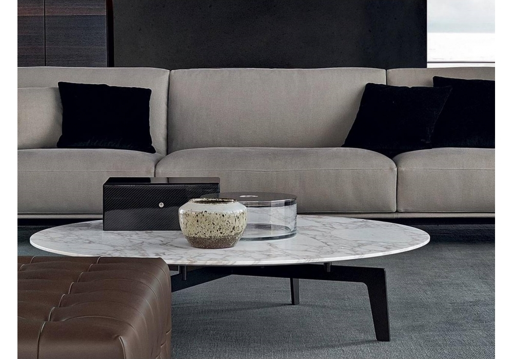 Innovative High Quality Tribeca Coffee Tables Throughout Tribeca Coffee Table Poliform Milia Shop (Image 25 of 50)
