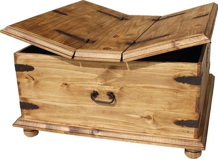 Innovative High Quality Wooden Storage Coffee Tables Pertaining To Wooden Storage Trunk Coffee Table Jerichomafjarproject (Image 29 of 50)