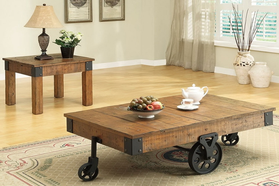 Innovative Latest Antique Rustic Coffee Tables Intended For Pine Square Rustic Coffee Table Design Ideas And Decor (Image 37 of 50)