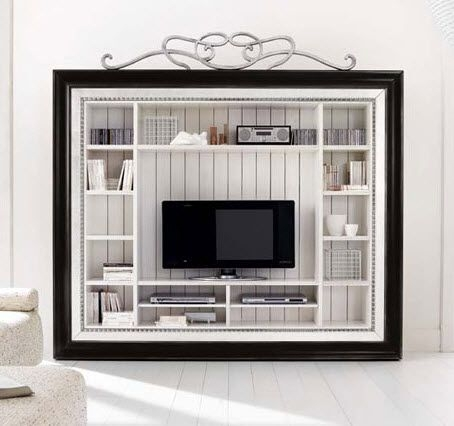 Innovative Latest Classic TV Cabinets In Classic Style Wooden Tv Wall Unit Hampshire 8110 Flai Home (Image 32 of 50)