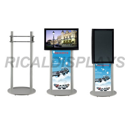 Innovative Latest Double TV Stands With Regard To Double Pole Tv Standid6154320 Product Details View Double (Image 30 of 50)