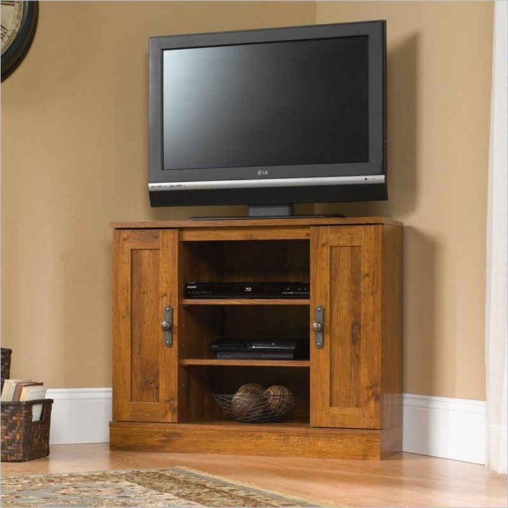 Innovative Latest Oak TV Stands For Flat Screen Intended For Best 25 Tall Corner Tv Stand Ideas On Pinterest Tall (Image 33 of 50)