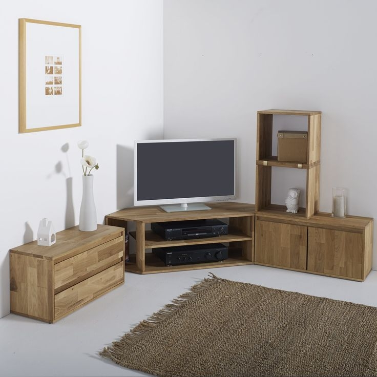 Innovative Latest Solid Wood Corner TV Cabinets With Best 25 Corner Tv Table Ideas On Pinterest Corner Tv Tv Stand (Image 36 of 50)