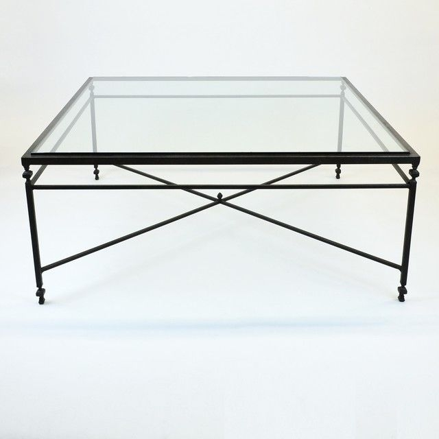 Innovative Latest Steel And Glass Coffee Tables In Attractive Square Glass Top Coffee Table Parsons Clear Glass Top (Image 32 of 50)