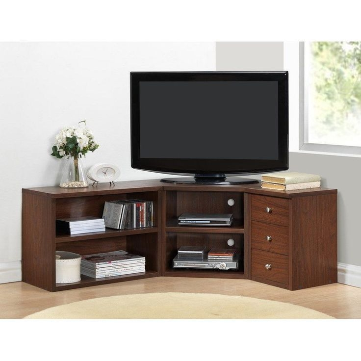 Innovative Latest TV Stands Corner Units With Regard To Best 25 Corner Tv Stand Ideas Ideas On Pinterest Corner Tv (Image 22 of 50)