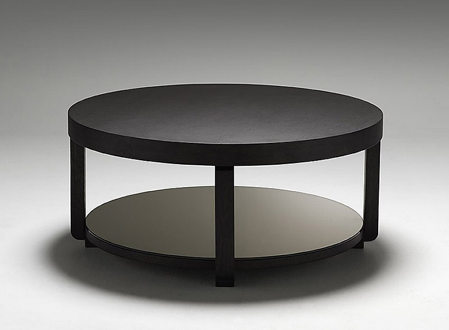 Innovative New Black Circle Coffee Tables In Black Coffee Table Mainittu Torille Black Coffee View In Gallery (View 11 of 50)