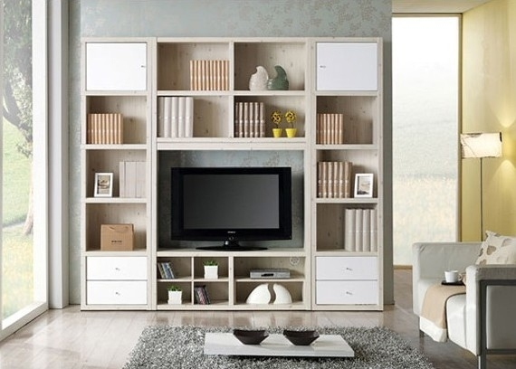 50 Inspirations Bookshelf Tv Stands Combo Tv Stand Ideas