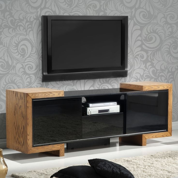Innovative New Contemporary Oak TV Cabinets Intended For Best 25 Contemporary Media Cabinets Ideas On Pinterest Built In (Image 34 of 50)