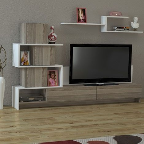 Innovative New Cordoba TV Stands Intended For Detaylar Gster Dekorister Amore Tv Nitesi Beyaz Cordoba (Image 30 of 50)