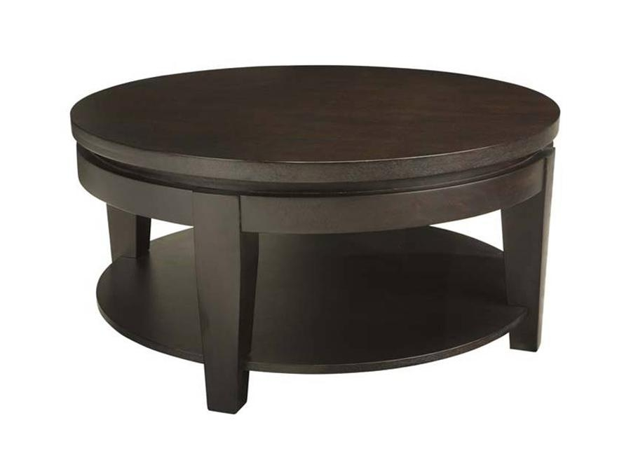 Innovative New Dark Wood Coffee Table Storages In Exellent Black Coffee Table With Storage I Decorating Ideas (Image 34 of 50)