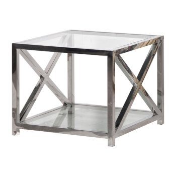 Innovative New Glass Steel Coffee Tables With Regard To Modern Stainless Steel Coffee Table Cube (Image 33 of 50)