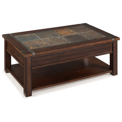 Innovative New Lift Coffee Tables Pertaining To Magnussen Roanoke Coffee Table With Lift Top And Caster Reviews (View 17 of 50)