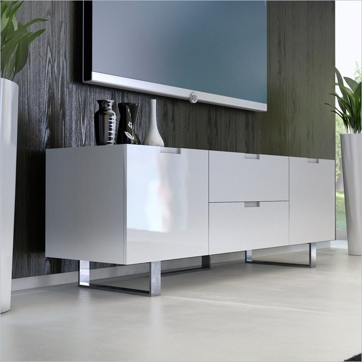 Innovative New Modern White Lacquer TV Stands Regarding 10 Best Entertainment Center Images On Pinterest Tv Cabinets Tv (Image 29 of 50)