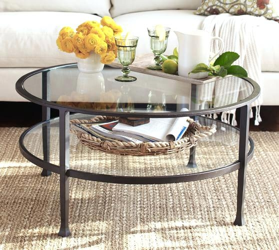 Innovative New Round Woven Coffee Tables In Pottery Barn Round Woven Coffee Table Tag Pottery Barn Round (Image 39 of 50)