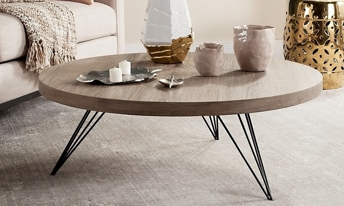 Innovative New Safavieh Coffee Tables Pertaining To 43 Off On Safavieh Mansel Coffee Table Groupon Goods (View 29 of 50)