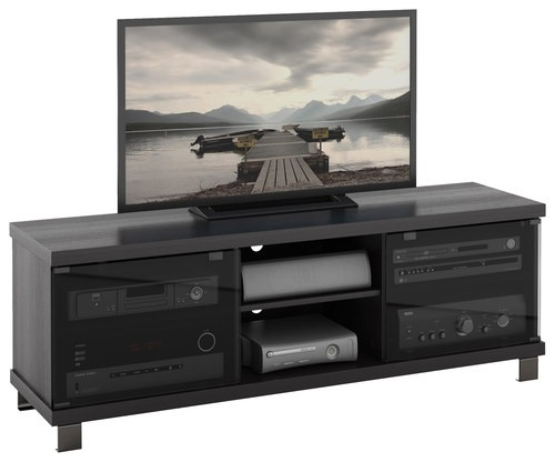 Innovative New Sonax TV Stands Within Sonax Tv Stand For Tvs Up To 68 Black Hc 5590 Best Buy (View 13 of 50)