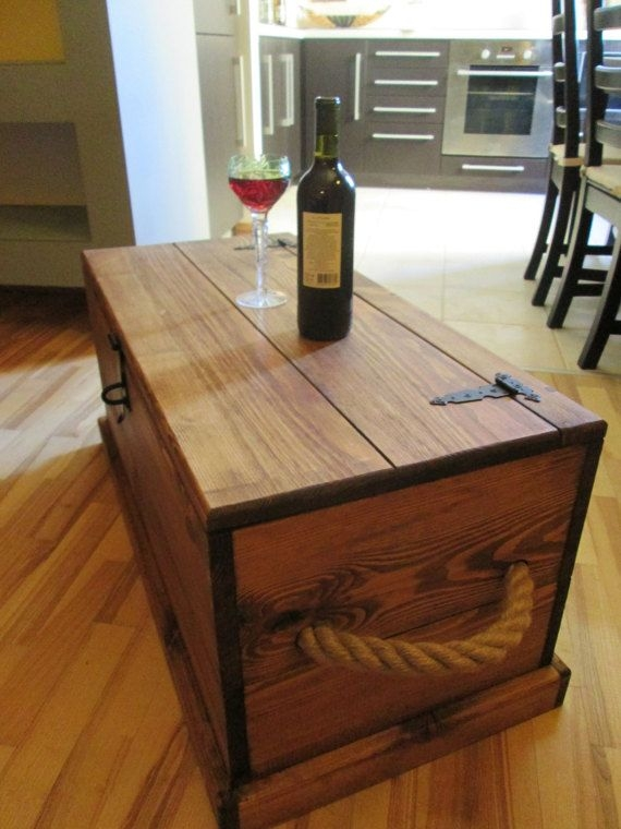 Innovative New Storage Trunk Coffee Tables Intended For 47 Best Coffee Tables And Trunks Images On Pinterest Vintage (Image 36 of 50)