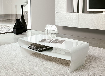 Innovative New White High Gloss Coffee Tables Within White And Glass Coffee Table Gerrit White Clear Glass Coffee (View 26 of 50)