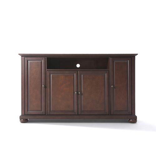 Innovative Popular Cabinet TV Stands With Alexandria 60 Inch Tv Stand In Vintage Mahogany Finish Crosley (Image 30 of 50)
