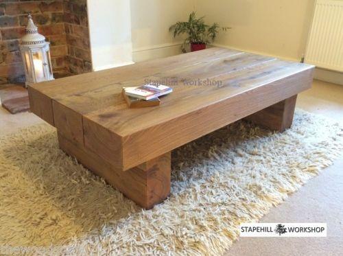 Innovative Popular Large Low Oak Coffee Tables For Magnificent Rustic Oak Coffee Table Oak Coffee Tables Large Oak (Image 38 of 50)