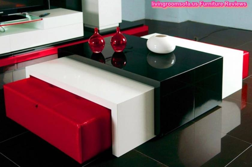 50 Ideas Of Red Coffee Table Coffee Table Ideas