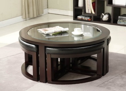 Innovative Popular Round Woven Coffee Tables Pertaining To Round Dark Woven Thick Rope Coffee Table Mecox Gardens Jericho (Image 40 of 50)