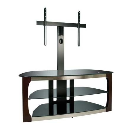 Innovative Popular Swivel TV Stands With Mount Inside Bello Triple Play Series 60 Inch Tv Stand With Swivel Mounting (Image 34 of 50)