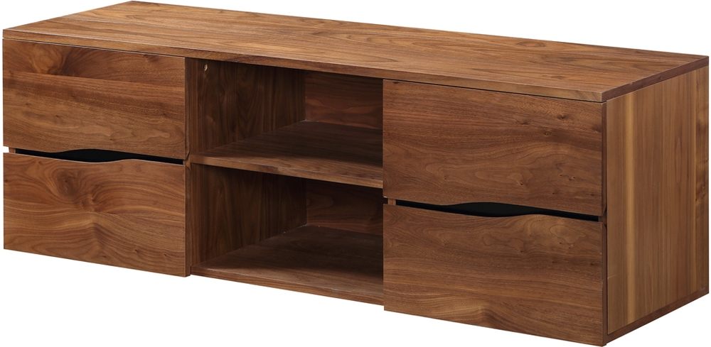 Innovative Popular Walnut TV Stands Throughout Jual Bella Modern Walnut Tv Stand 150cm Tv Media Units (View 45 of 50)