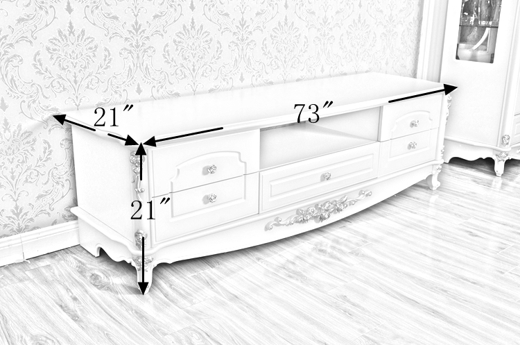 Innovative Popular White Wooden TV Stands For Classic White Wood Tv Table Cheap Living Room Tv Stands Eu Luxury (Image 28 of 50)