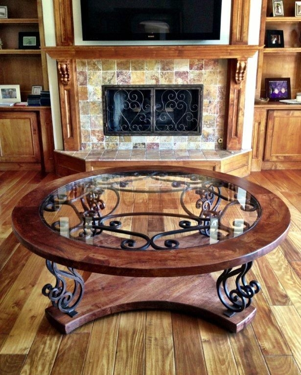Innovative Popular Wrought Iron Coffee Tables In Best 25 Iron Coffee Table Ideas On Pinterest Glass Coffee (Image 31 of 50)