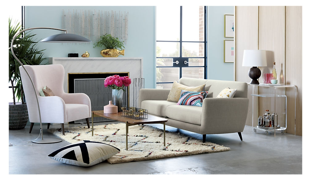 Innovative Preferred C Coffee Tables Pertaining To Peekaboo Acrylic C Table Cb (Image 37 of 50)