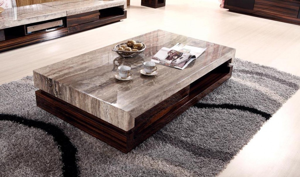 Innovative Preferred Cheap Wood Coffee Tables Within Foxy Marble Coffee Table (Image 35 of 50)