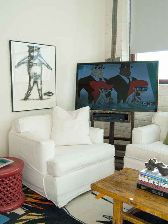 Innovative Preferred Easel TV Stands For Flat Screens Throughout Tv Easel Houzz (View 25 of 50)