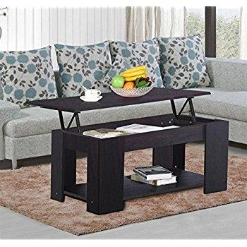 Innovative Preferred Espresso Coffee Tables With Regard To Amazon Altra Carson Coffee Table Espressosilver Kitchen (View 3 of 50)