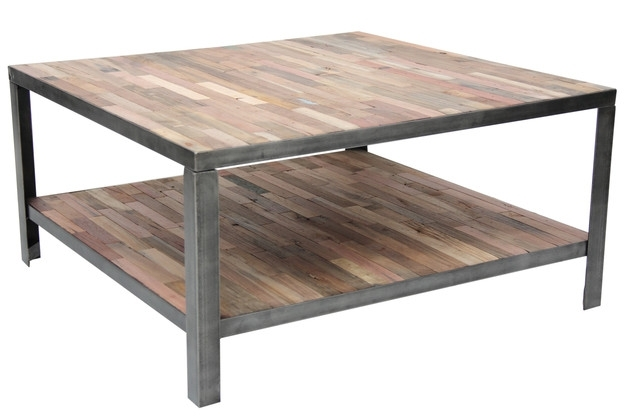 Innovative Preferred Low Industrial Coffee Tables In Square Industrial Coffee Table (Image 27 of 40)