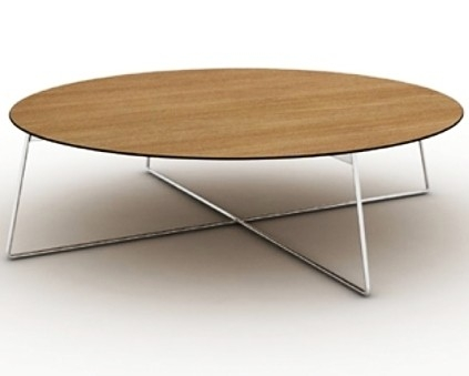Innovative Preferred Metal Oval Coffee Tables Pertaining To Fly Coffee Table In Metal Base Wood Top Bnt Fly Coffee Table (Image 33 of 50)