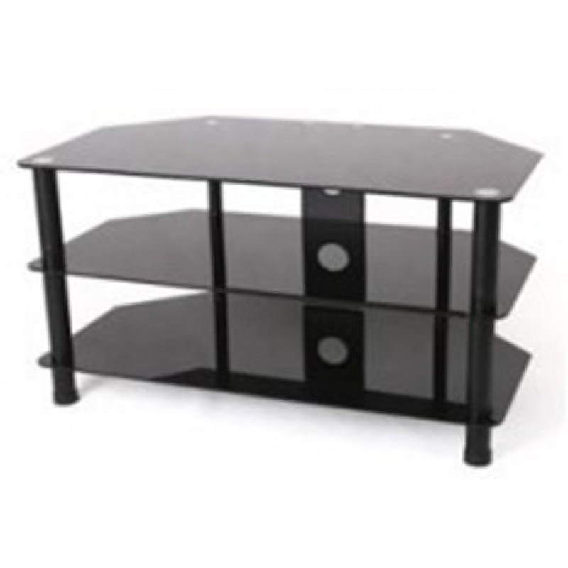 Innovative Preferred Oval Glass TV Stands Regarding Black Glass Oval Tv Stand Home Design Ideas (View 14 of 50)