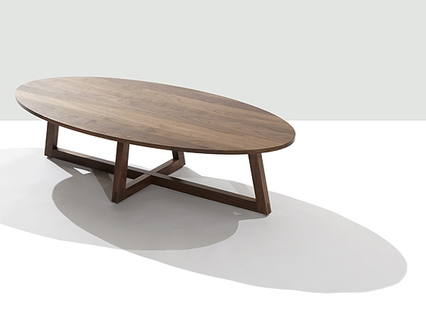 Featured Image of Oval Walnut Coffee Tables