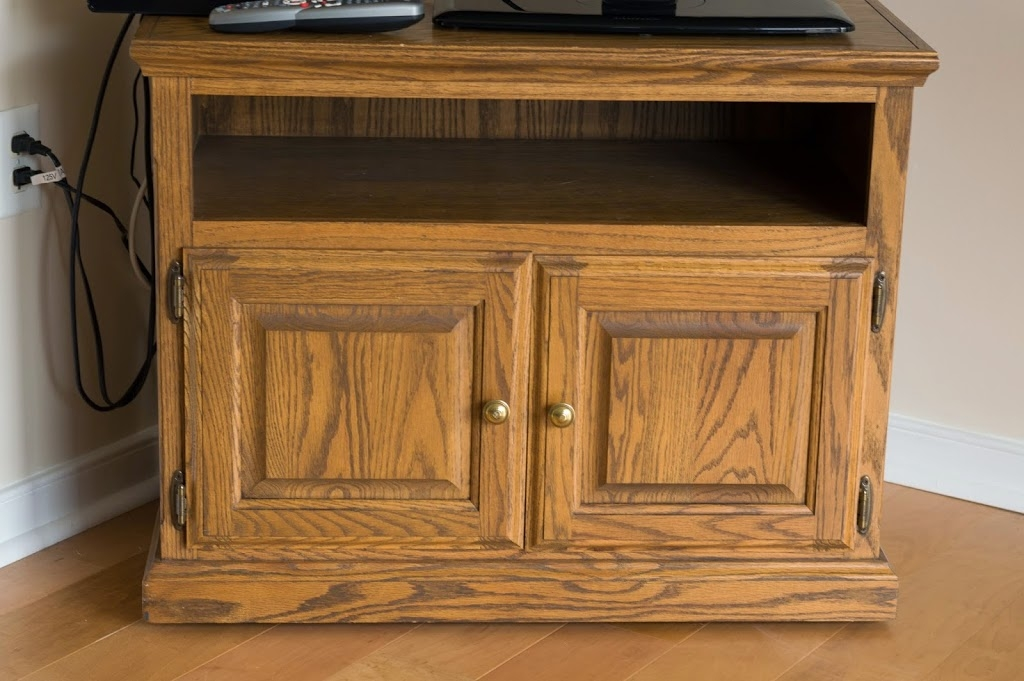 Innovative Preferred TV Stands Over Cable Box Throughout Make Over An Old Tv Stand Brittany Goldwyn Live Creatively (Image 27 of 50)