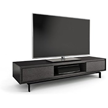 Innovative Preferred Wide TV Cabinets In Amazon Bdi Cavo 8167 Triple Wide Tv Cabinet Graphite (Image 29 of 50)