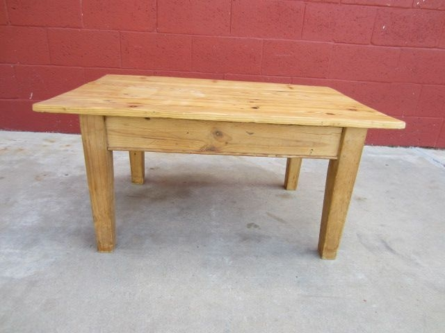 Innovative Premium Antique Pine Coffee Tables Inside English Antique Primitive Pine Coffee Table Antique Country Furniture (Image 29 of 50)