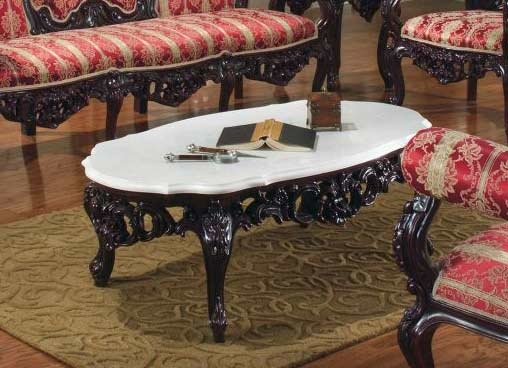 Innovative Premium Baroque Coffee Tables Throughout Provincial Sofa Collection 6113 Baroque Sofas (Image 32 of 50)
