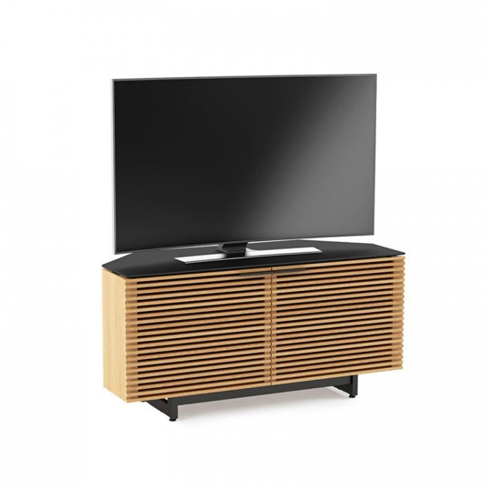 Innovative Premium Oak Corner TV Cabinets Throughout Corridor 8175 White Oak Corner Tv Cabinet (Image 28 of 50)