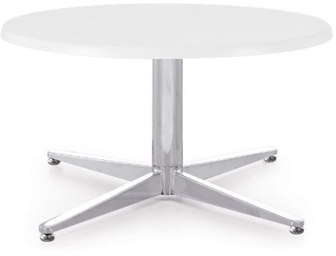 Innovative Premium Round Beech Coffee Tables Throughout Frvi Pitch Round Coffee Table With Mfc Finish 600mm Diameter (Image 37 of 50)