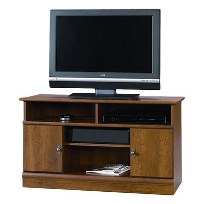 Innovative Premium TV Stands In Oak Throughout Wood Tv Stand Flat Screen Modern Media Console Cabinet (View 39 of 50)