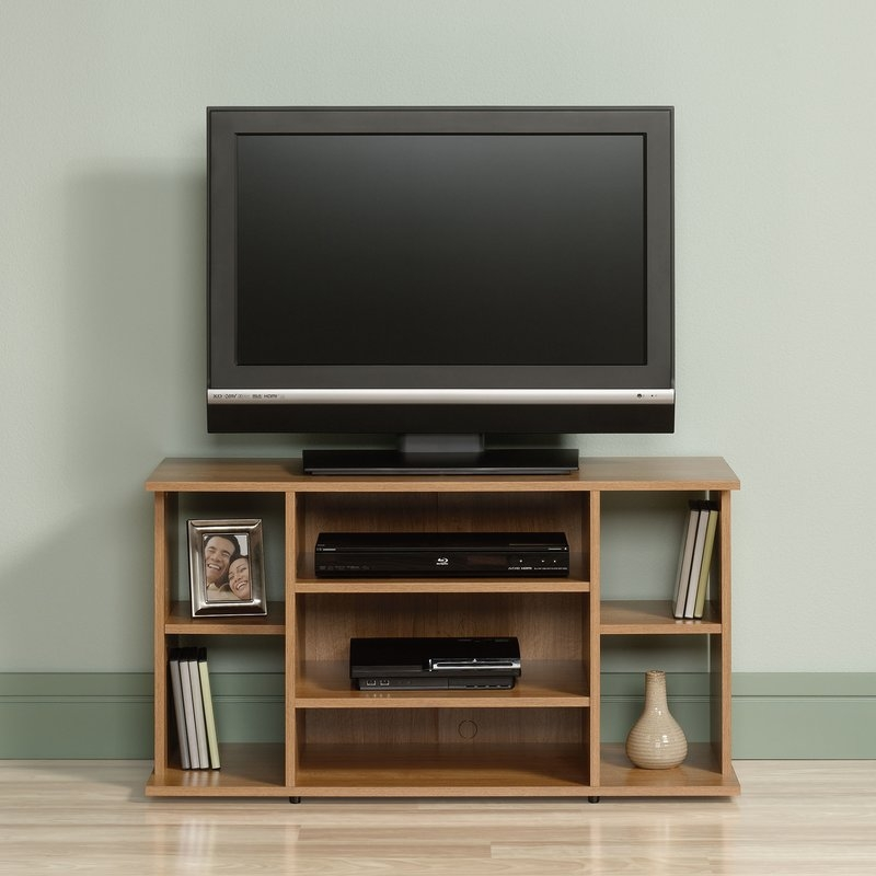 Innovative Premium TV Stands Rounded Corners Throughout Modern Contemporary Tv Stands Youll Love Wayfair (Image 32 of 50)