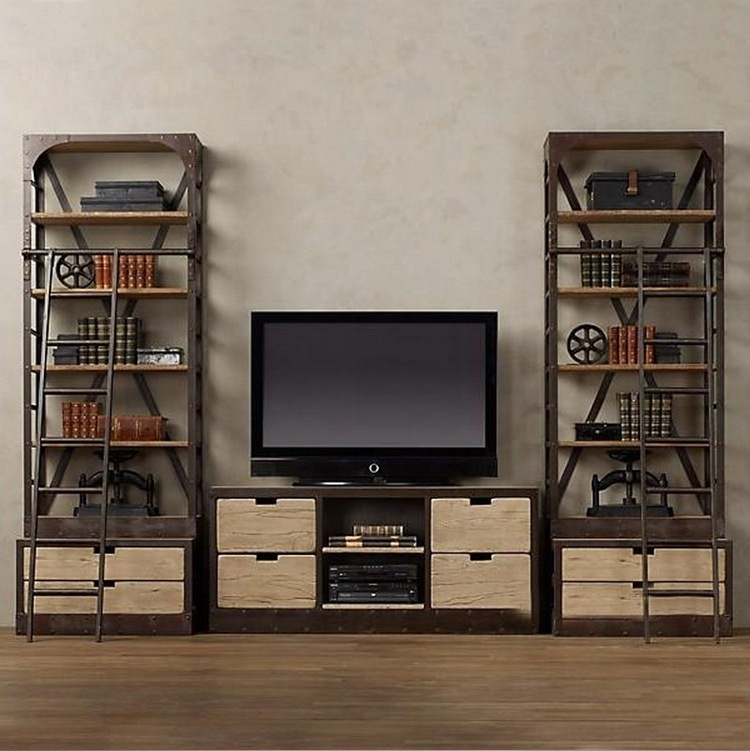 Innovative Premium TV Stands With Matching Bookcases With Desk And Tv Stand Combo Google Search Pinteres For Bookcase Media (Image 33 of 50)